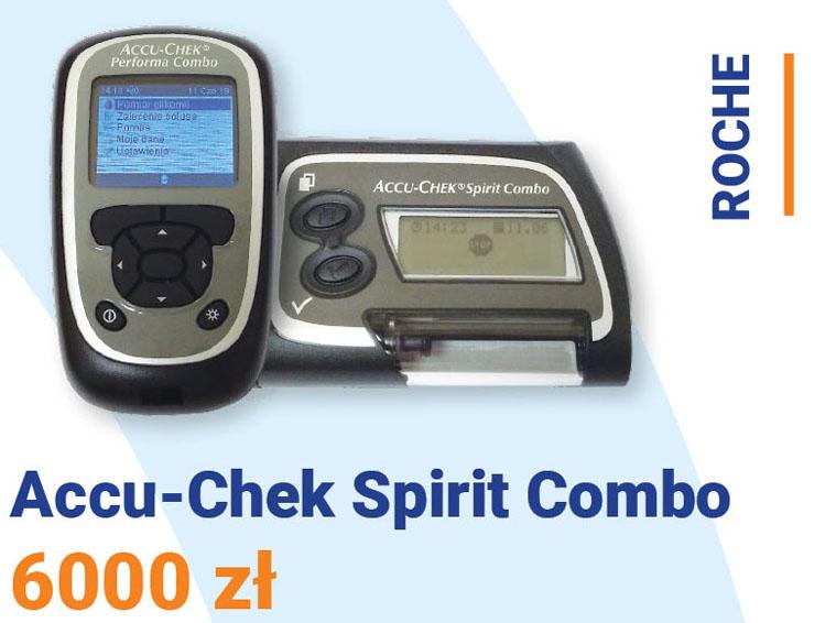Pompa insulinowa Roche Accu-Chek Sprit Combo cena: 6000 zł