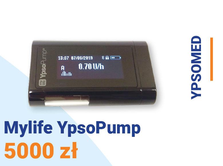 Pompa insulinowa Ypsomed Mylife YpsoPump cena 5000 zł